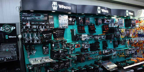 Wera Stands at Ted Johnsons - Professional Power Tools