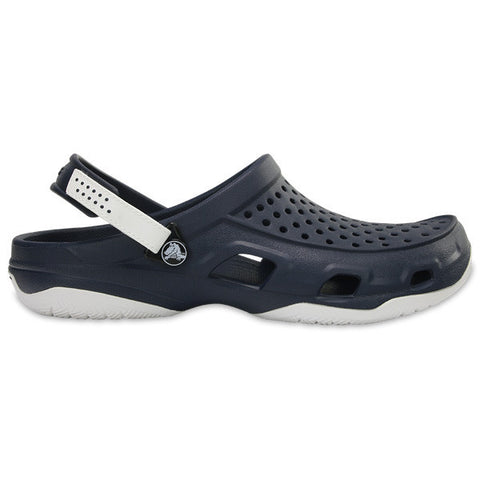 203981 462 Swiftwater Deck Clog Navy White