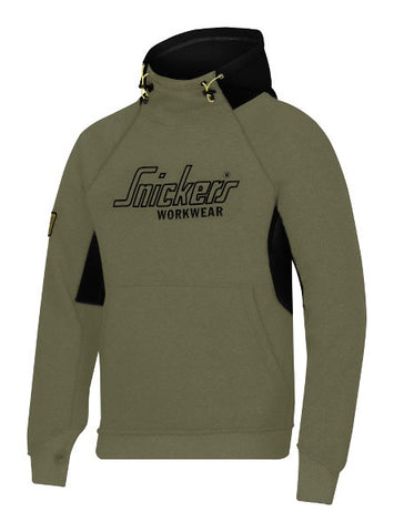 Snickers  Hoodie 28153204 Green and Black