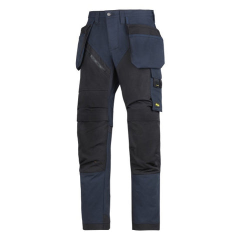 6203 Snickers Navy Ruff Work Trousers