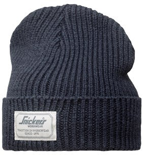 90235000 Snickers All Round Navy Beanie Hat at Ted Johnson Ltd