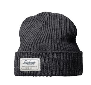 b3afc57d39e 9023 Snickers All Round Beanie Fisherman Hat in Dark Grey – Ted ...