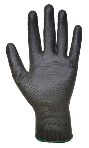 A120 PU Palm Glove Grey Portwest at Ted Johnsons