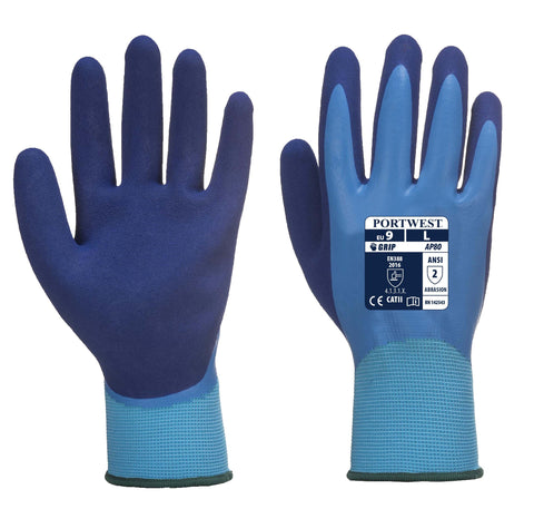 AP80 Liquid Pro Glove Blue Portwest at Ted Johnsons