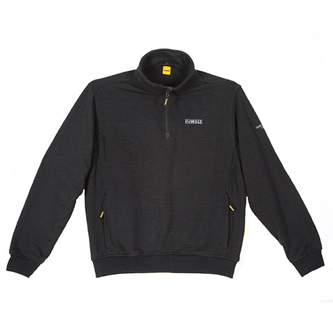 DEWALT LAUREL QUARTER ZIP SWEATER BLACK AT TED JOHNSONS