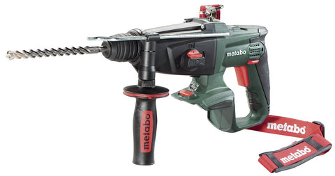 METABO KHA 18 LTX 3FNC SDS HAMMER, BODY ONLY + METALOC