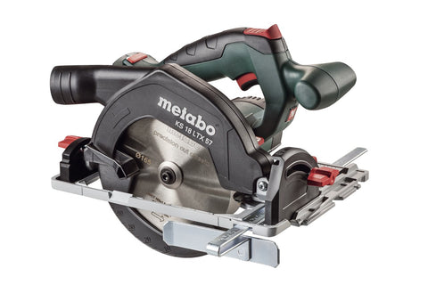 METABO KS 18 LTX 57 CIRCULAR SAW, BODY ONLY + METALOC