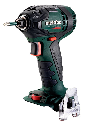 "METABO SSD 18 LTX 200 1/4"" IMPACT DRIVER, BODY ONLY + METALOC"