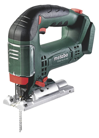 METABO STAB 18 LTX 100, BOW HANDLE JIGSAW, BODY ONLY + METALOC