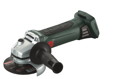"METABO W 18 LTX 125 5"" ANGLE GRINDER, BODY ONLY + METALOC"