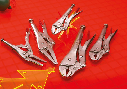 CRESCENT LOCKING PLIER SET