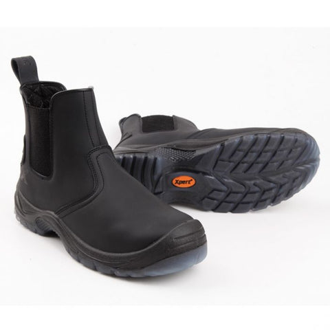 Xpert XP540 Defiant Black Boot at Ted Johnson Ltd.jpg