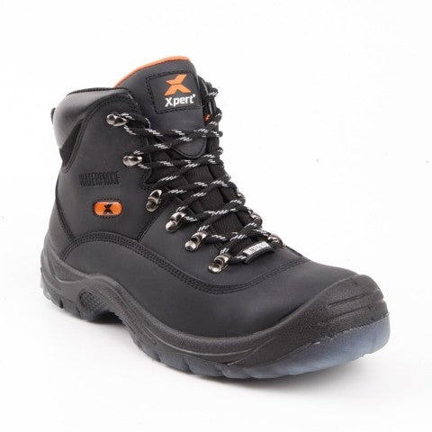 XP610 XPERT TYPHOON LACED WATERPROOF SAFETY BOOTS