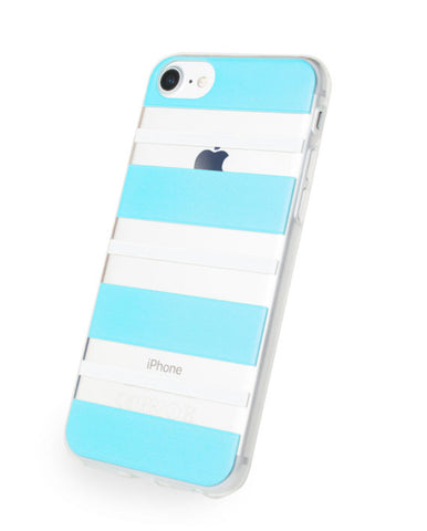 Blue & White Stripes Phone Case - EVO