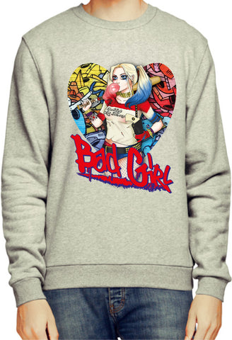 Suicide Squad Harley Quinn Bad Girl Sweatshirt / Jumper - Merch Distributor - 2