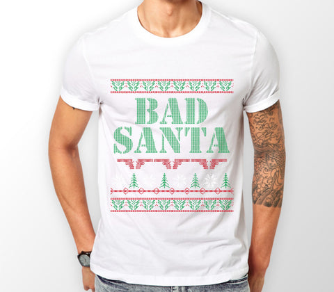 Bad Santa Christmas T-Shirt - Merch Distributor