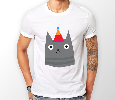 Christmas Cat Range No2 - Party Hat Cat! - Merch Distributor