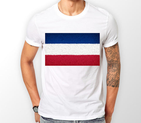 Serbia & Montenegro Flag T-Shirt - Merch Distributor