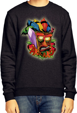 Aku Aku Crash Bandicoot Sweatshirt