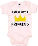 Daddys Little Princess Baby Grow