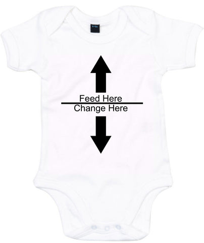 Instructions For Daddy Feed Here Change Here Baby Grow