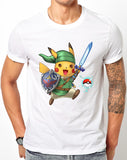 Linkachu, Hero Of Time with Pokeball Navi - Pokemon / Legend Of Zelda Parody - Merch Distributor - 1