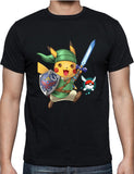 Linkachu, Hero Of Time with Pokeball Navi - Pokemon / Legend Of Zelda Parody - Merch Distributor - 2