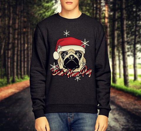 'BAH - HUMPUG' CHRISTMAS JUMPER / SWEATSHIRT - Merch Distributor - 1