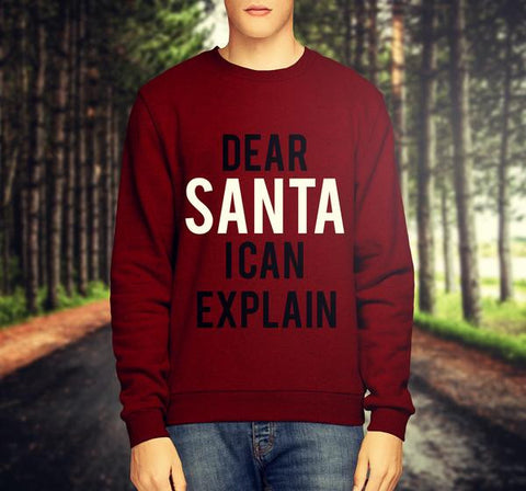 ' SANTA I CAN EXPLAIN ' CHRISTMAS JUMPER / SWEATSHIRT - Merch Distributor - 2