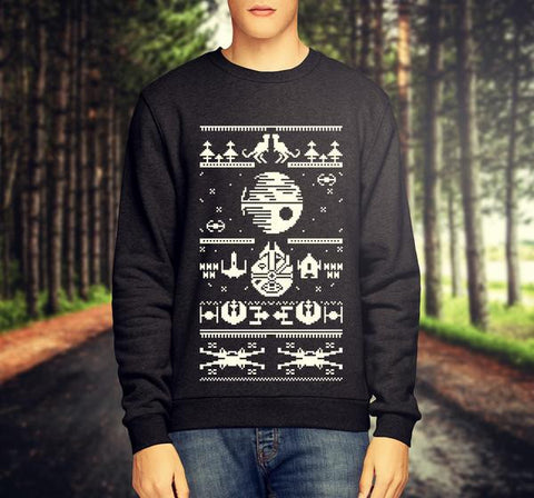 STAR WARS CHRISTMAS JUMPER / SWEATSHIRT - Merch Distributor - 1