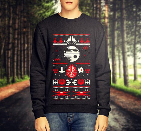 STAR WARS CHRISTMAS JUMPER / SWEATSHIRT VERSION 2 - Merch Distributor - 1