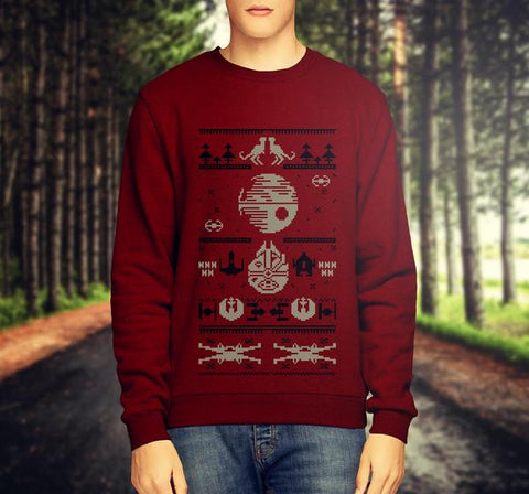 STAR WARS CHRISTMAS JUMPER / SWEATSHIRT VERSION 3 - Merch Distributor - 1