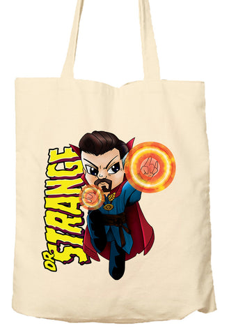 Dr Strange Parody Shirt - Marvel Parody - Environmentally Friendly Tote Bag, Natural Shopping Bag