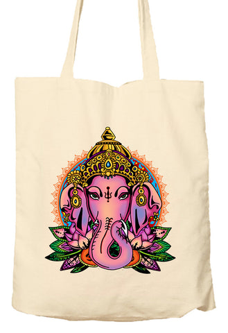 Ganesh - Tote Bag, Natural Shopping Bag, Environmentally Friendly