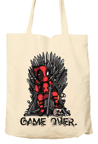 Deadpool Game Of Thrones Parody - Environmentally Friendly Tote Bag, Natural Shopping Bag