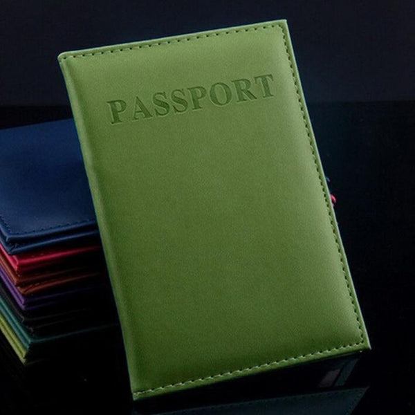 Solid Passport Cover Colors