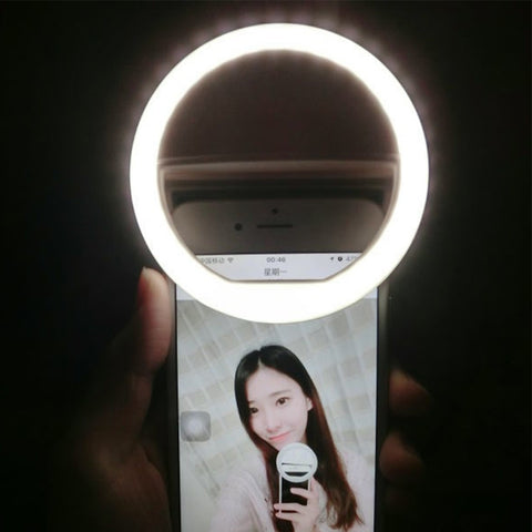 Smart Phone Ring Light