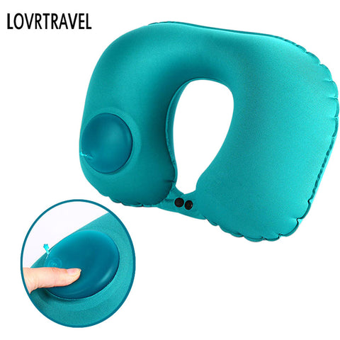 Self Inflating Travel Pillow