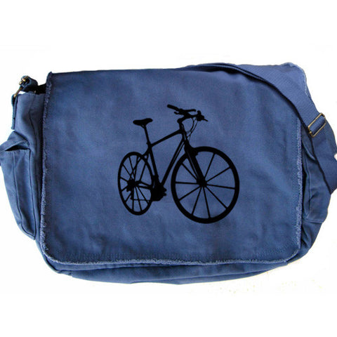 Bike Messenger Bag blue