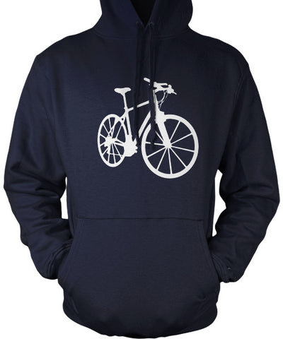 blue bicycle hoodie