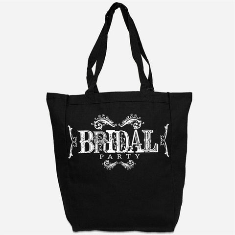 Bridal Party Tote Bag - Wedding, Bridesmaid, Bachelorette Party