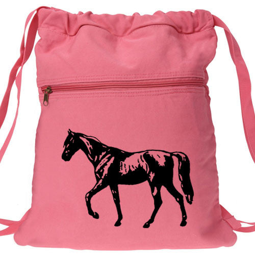 Horse Backpack pink