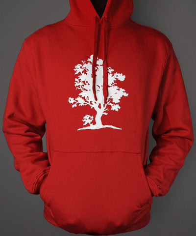 tree of life red hoodie