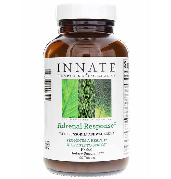 Adrenal Response 60 or 90 Innate Response Botanical Adrenal support for maintaining healthy cortisol level & healthy stress response