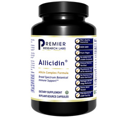 Allicidin 60caps Premier Labs Broad Spectrum Immune Support