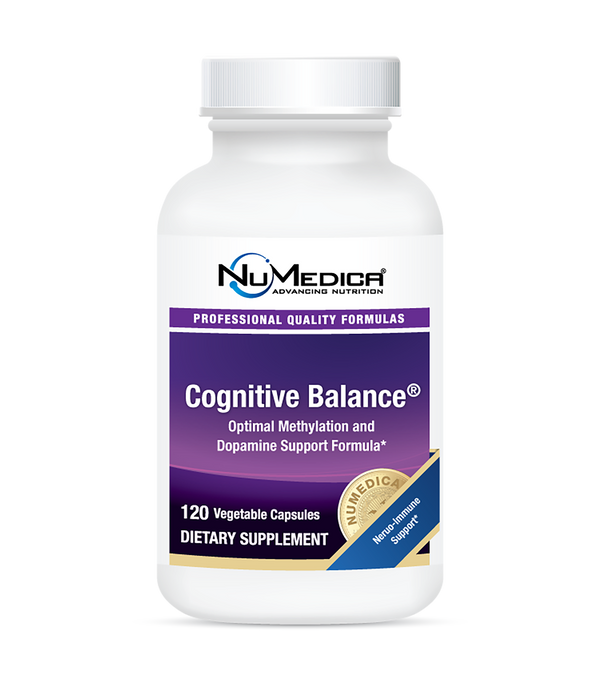 Cognitive Balance - 120c NuMedica,Optimum Methylation & Dopamine Support