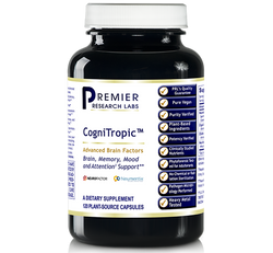 CogniTropic 120 vcaps, Premier Research Brain, Memory, Mood, & Attention Support