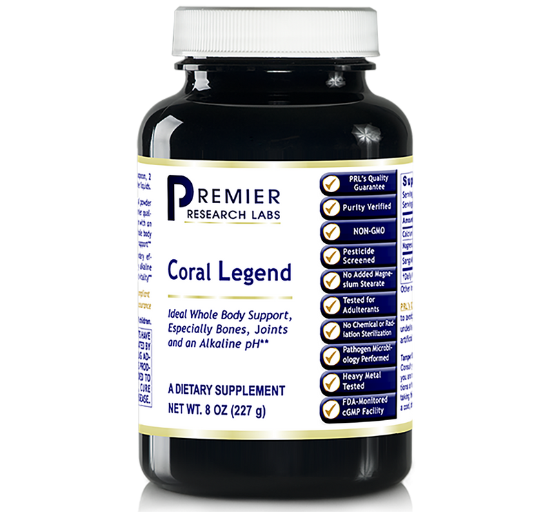 Coral Legends Calcium Powder 8 Oz Premier Research
