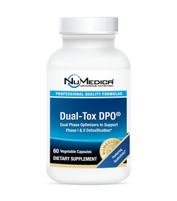 Dual Tox DPO 60, NuMedica Dual Phase Optimizers to Support Phase l & ll Detox