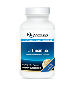 L-Theanine, 200mg SunTheanine 60 NuMedica Relaxation and Stress Relief*